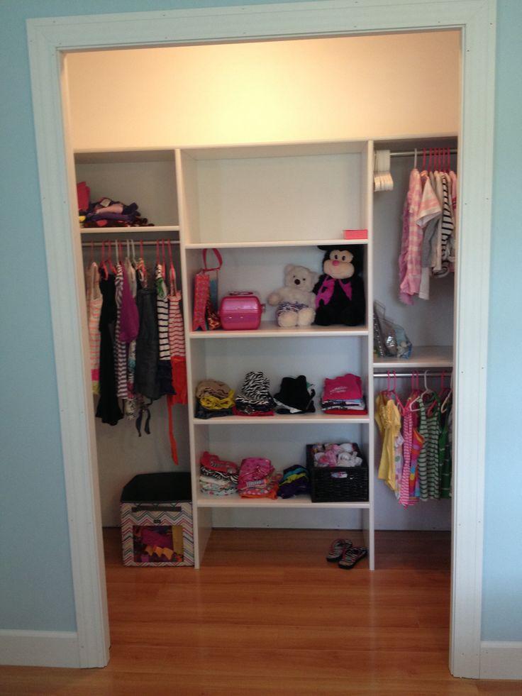 DIY Closets Shelves