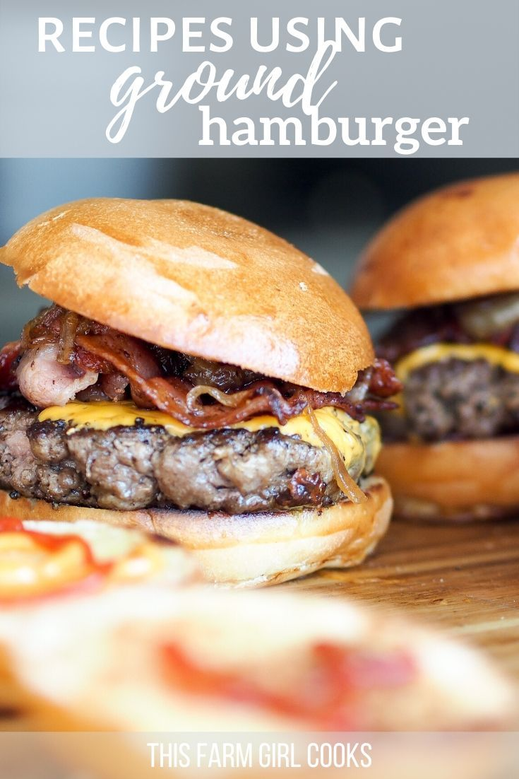 Easy Ground Beef Recipes In 2020 Easy Homemade Burgers Homemade Burger Patties Homemade Burgers