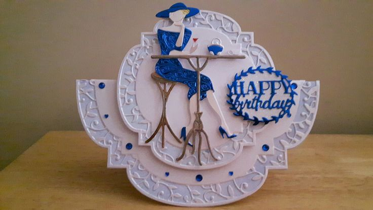 tonic & Tattered Lace Birthday Card