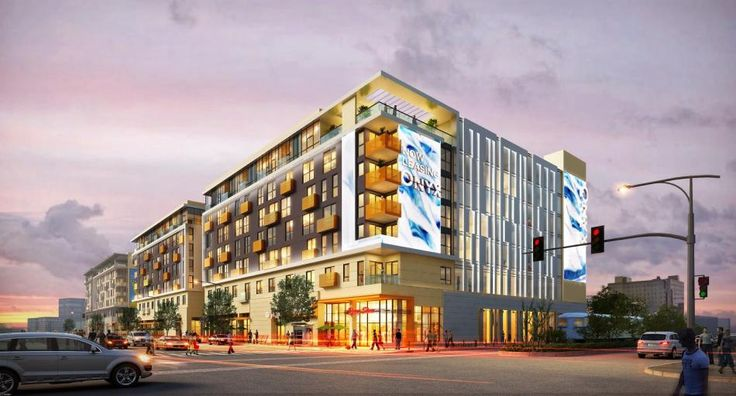 Shiny New Rendering of South Park's Onyx Mixed-User | Urbanize LA