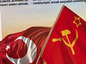 Haftalık siyasi dergi Boyun Eğme, 96'ncı sayısından itibaren yoluna haftalık gazete olarak devam etme kararı aldı. Gazetenin ilk sayısında orak-çekiçli bayrakla Türk bayrağı yan yana geldi.