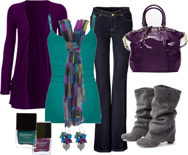 """Love Blue/Purple! Will be perfect for teaching!"" by chelseawate on Polyvore"