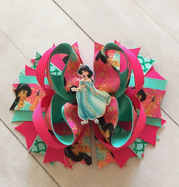 Arco del pelo de la princesa jazmín arco del pelo de Aladdin