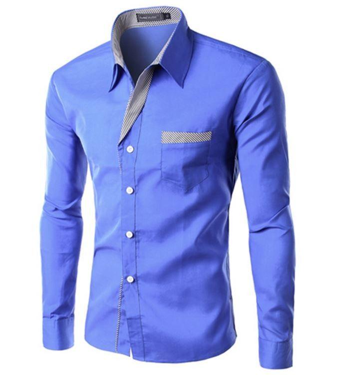 Elegantní pánská slim košile světle modrá – Velikost L Na tento produkt se vztahuje nejen zajímavá sleva, ale také poštovné zdarma! Využij této výhodné nabídky a ušetři na poštovném, stejně jako to udělalo již velké …