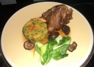 Jamie's Bloggers / Braised Asian Lamb Shanks with Sweet Potato Mash