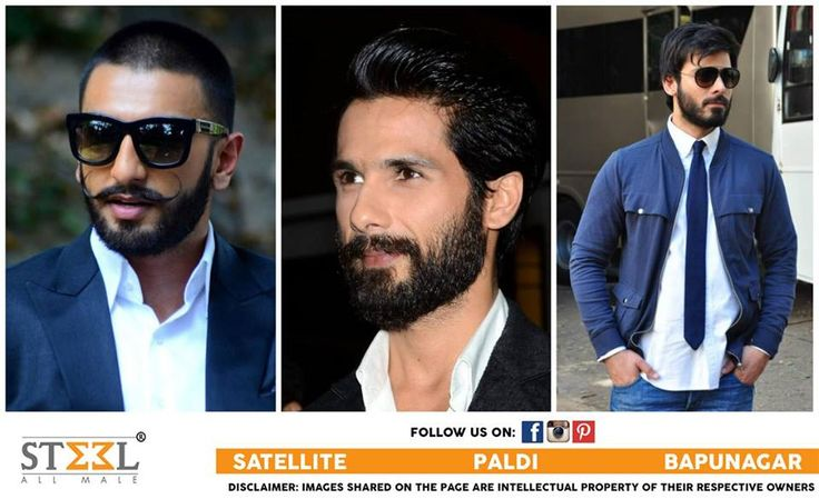 #BearderLook The Bollywood stars have sported different styles of beards over the years including a trimmed beard, a goatee, light stubble and so on. Here're few inspirations of bearded looks adopted by your favourite stars in the recent past.  Tell us who do you think looks cool, Ranveer, Shahid or Fawad?  #CelebrityFashion #Bollywood #RanveerSingh #ShahidKapoor #FawadKhan #Goatee #LightStubble #TrimmedBeard #Celebrity