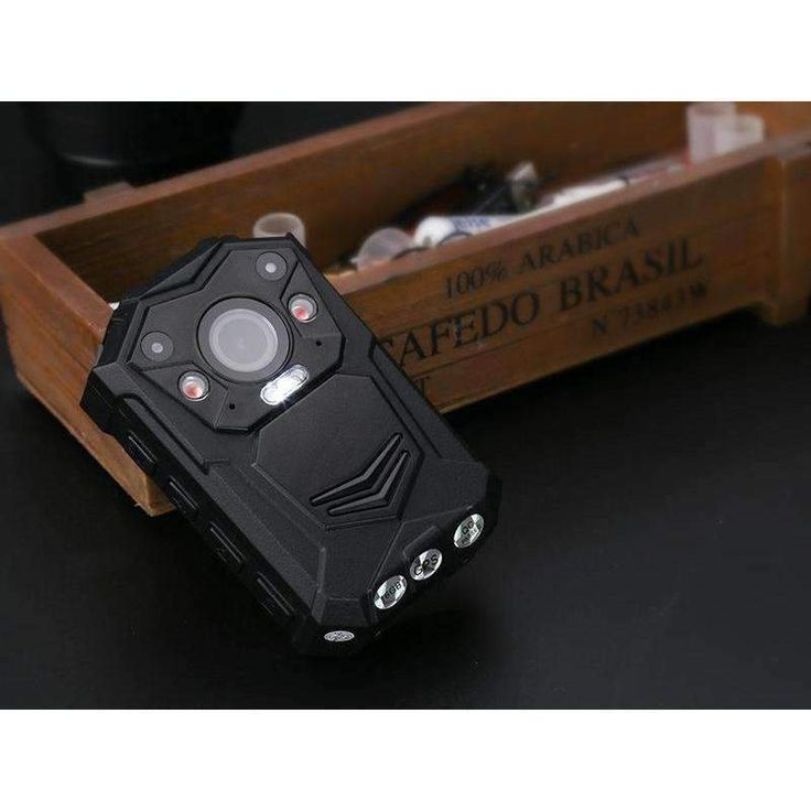 Police Body Worn Camera 10M Night Vision 1296p 140 Degree Lens CMOS Sensor IP65 Waterproof 2 Inch Di