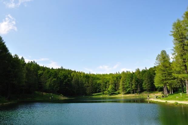 Lago della Ninfa (Ninfa Lake) as seen during ECMC LCRoma BikeRun 2012