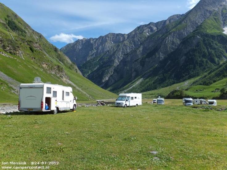 Camperplaats Bourg St Maurice [Les Chapieux] - Aire Chapieux - Frankrijk