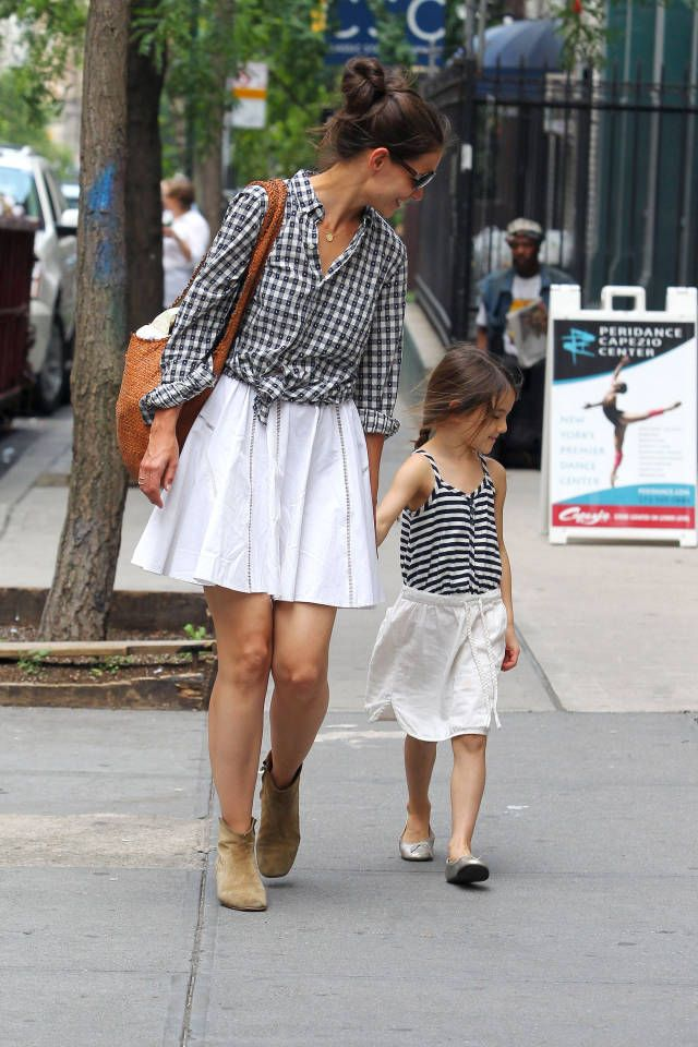 9 times celebrities dressed like their kids and looked SO chic while doing so: