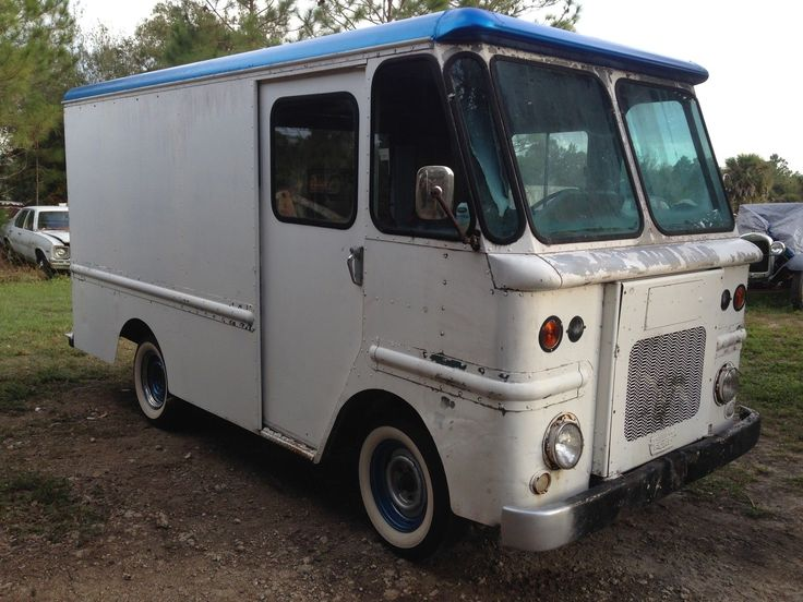 63 Ford Olsonette Step Van Grumman