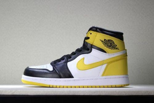 e2546aaf982 New Air Jordan 1 Retro High OG Yellow Ochre Mens Basketball Shoes 555088-109  For Sale - ishoesdesign
