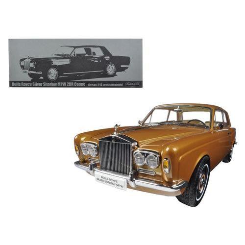 1968 Rolls Royce Silver Shadow Bronze 1/18 Diecast Model Car by Paragon