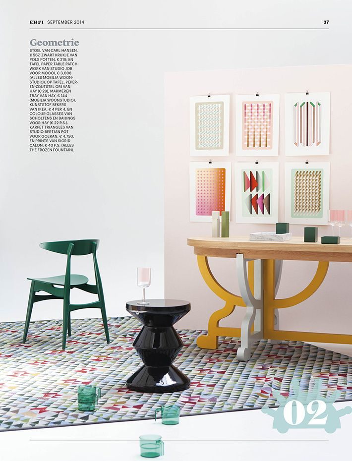 Commissioned By Trend Compass, Memphis Was Created By Design Editor,  Stylist And Photographer Floor Knaapen   To Show The Strong Trend Inspired  By The ...