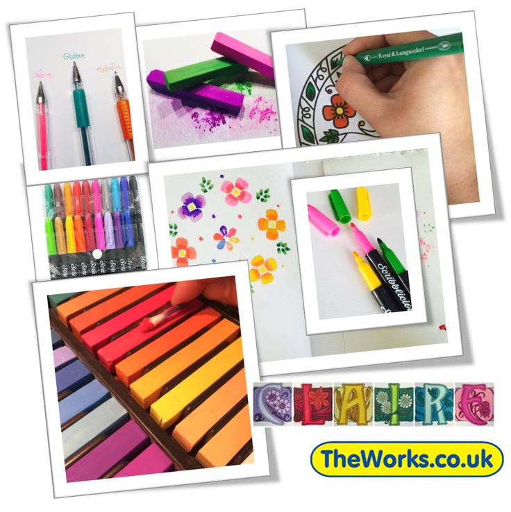 Do You Use Gel Pens Pastels Or Markers For Your Adult Colouring Books Which
