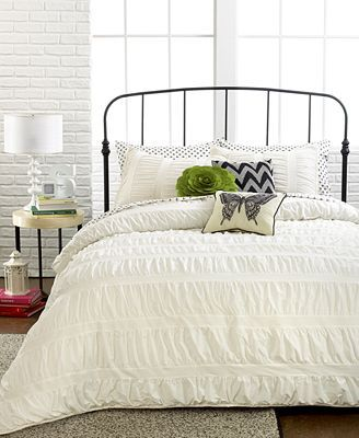 okay, definitely want this bedding! you must have it on your registry... #bedding #macys #weddingchickspicks http://www1.macys.com/shop/wedding-registry/product/ruched-stripes-ivory-3-piece-king-comforter-set?ID=1142549&cm_mmc=BRIDAL-_-CARAT-_-n-_-WCPinterest