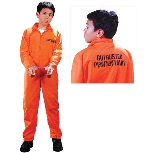 Child Got Busted Convict Costume