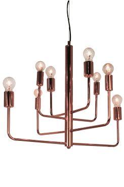 By Rydéns Random-kattovalaisin Korkeus 64 cm, halkaisija 64 cm<br>Musta kangaspäällysteinen johto, jossa vaijeri, pituus 120 cm. 4xE27 30 W. <br>Lamput eivät mukana. Suositeltavat lamput: 30W ECO-pallolamppu (eivät mukana). Design: Katarina Dahl.