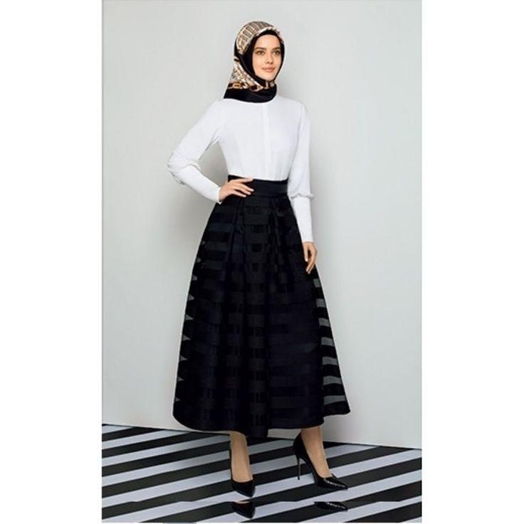 ARMİNE ETEK   ETEK   2015 YENİ SEZON   KatreModa Tesettür Giyim