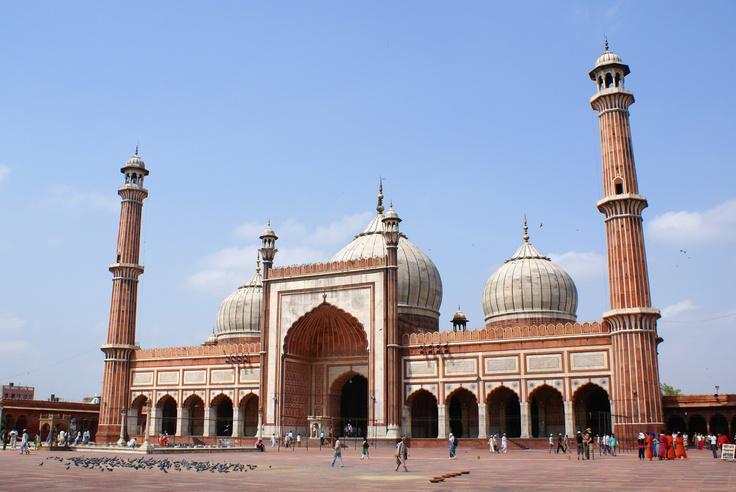 Jama Masjid Delhi India Beautiful Places Of Worship Pinterest Delhi India Jama Masjid