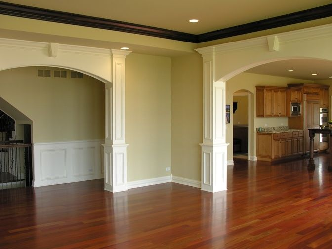 Interior Arches Mouldings : Best images about house on pinterest arched windows