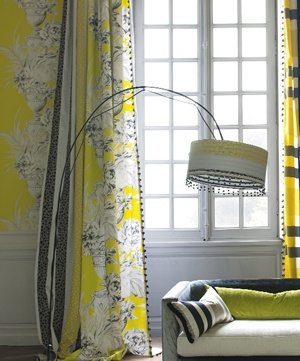 Designers Guild Palmieri in bright Chartreuse