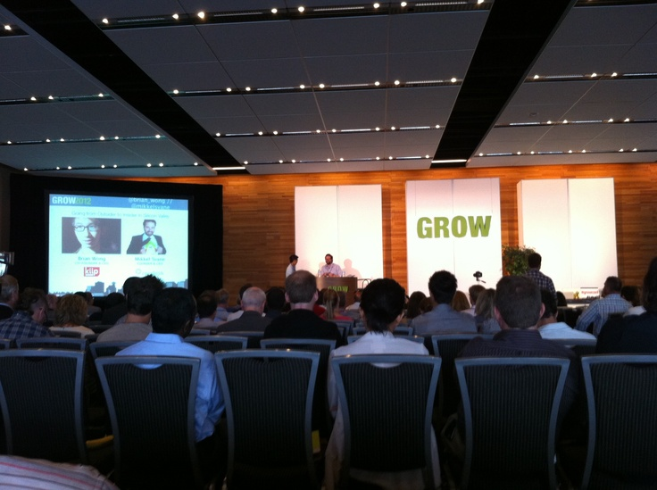Going from Outsider to Insider in Silicon Valley-Mikkel Svane, Founder & CEO Zendesk, Brian Wong, Co-Founder and CEO Kiip speaking at Grow2012