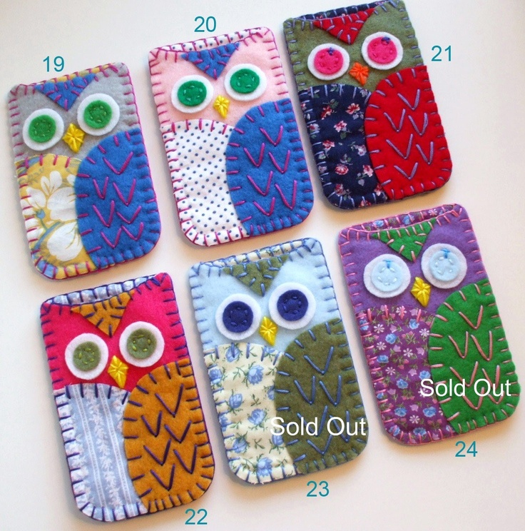 Felt Owl Phone case