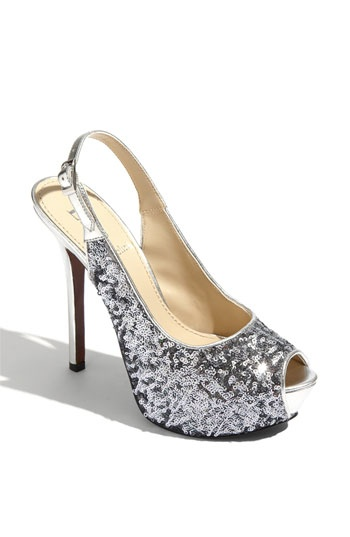 ♥: Angiolini Tolten, Fashion Shoes, Wedding Shoes, Sparkly Shoes, Clothing, Slingback Pumps, Enzo Angiolini, Platform Shoes, Bridal Shoes