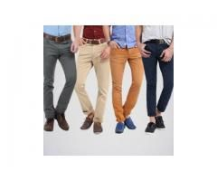 Men's Pack of 4 Cotton Jeans for sale in good price on This EID