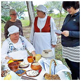 Park Ranger Griselle Fuellner invites local Historic City News readers to join reenactors at Fort Matanzas National Monument to learn about the life of a typical woman in Saint Augustine during Spanish colonial times.