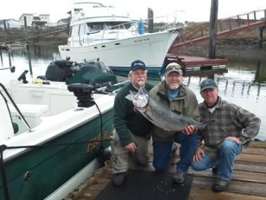 """Reel"" Estate Salmon Fishing Report for the San Juan Island Area. Learn the hot salmon fishing spots for the Bellingham, Anacortes and San Juan Island areas."