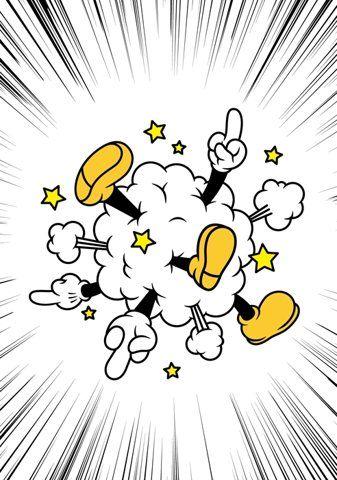 Mickey bustup