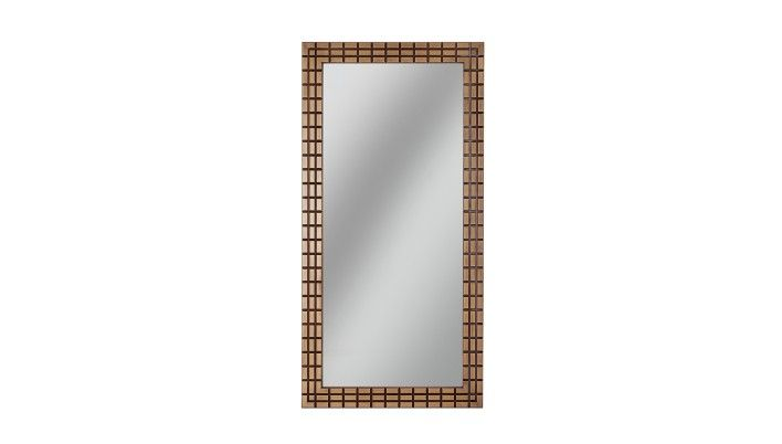Selva, Antique Bronze Mirror - LuxDeco.com