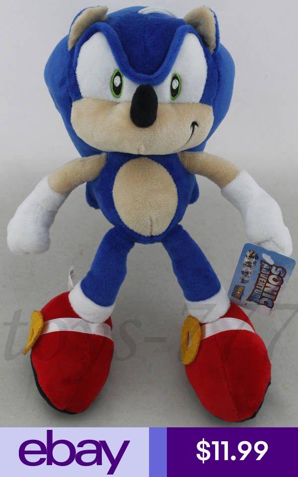 Sonic Stuffed Animals Plush Toys Ebay Toys Hobbies Animal Plush Toys Plush Toy Sonic Birthday Parties