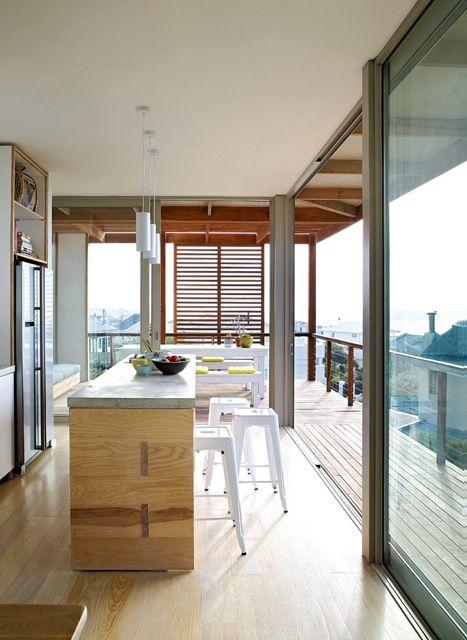 Beach house kitchen, South Africa, Beattyvermeiren architects