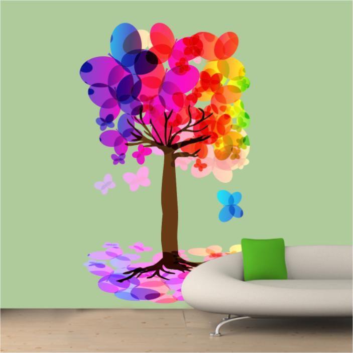 Μαγικός χορός πεταλούδων 2, αυτοκόλλητο τοίχου,19,60 €,http://www.stickit.gr/index.php?id_product=16910&controller=product