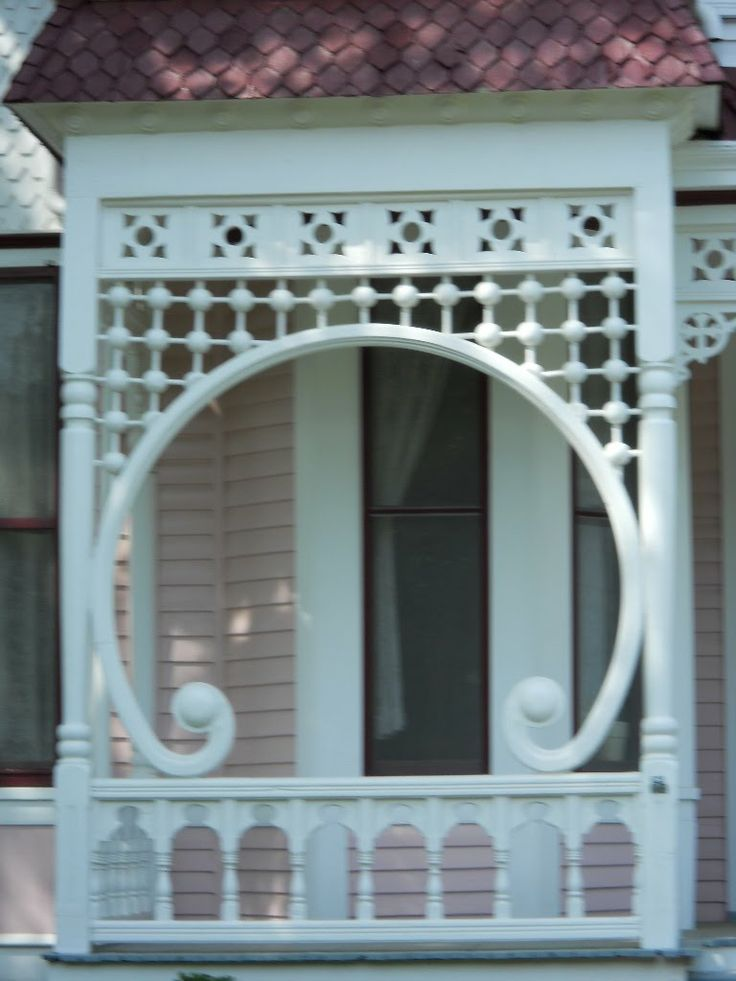 922 best victorian gingerbread scroll work images on for Architectural gingerbread trim