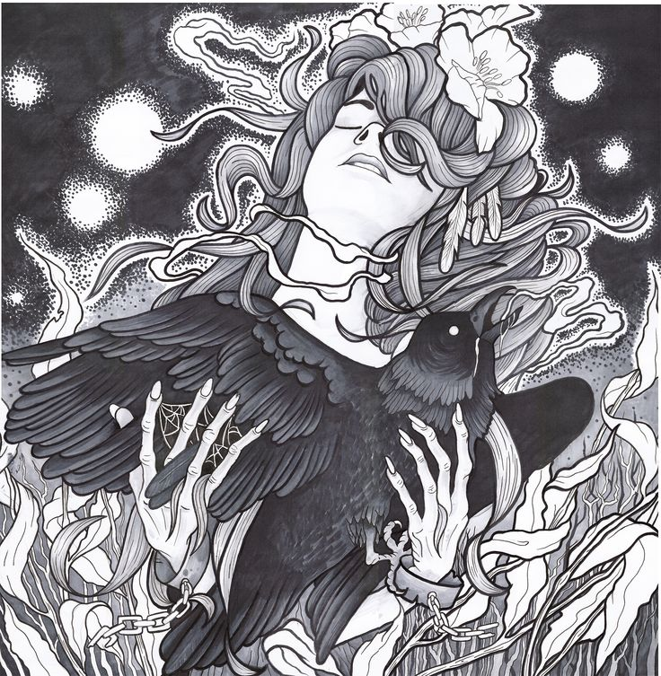 Illustration of my girl by Sasha Foteev