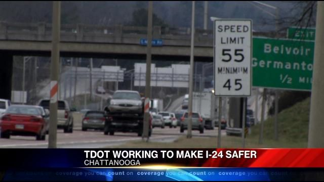 CHATTANOOGA, TN (WRCB) Exactly one year ago on December 30Th 2013, Channel 3 Eyewitness News brought you a story about a T-Dot study that pointed out the most dangerous portions of Interstate 24, o...