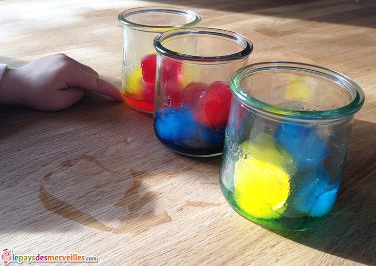 expérience mélange de couleurs glaçons (2)
