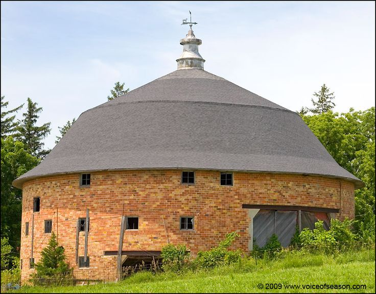 Silo Shaped Barn Cool Barns And Barn Homes Pinterest