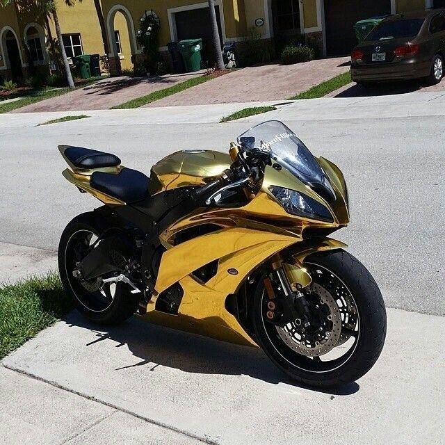 Gold Yamaha R6
