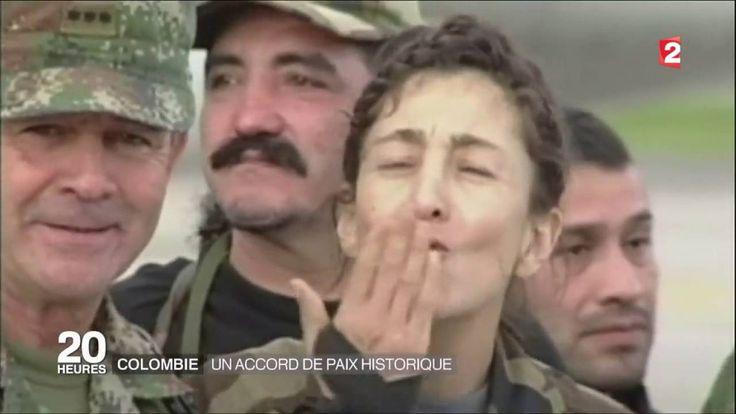 Colombie , les Farc déposent les armes