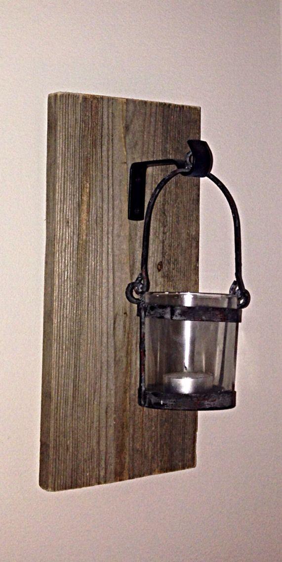 Lantern • candle • plank • wood