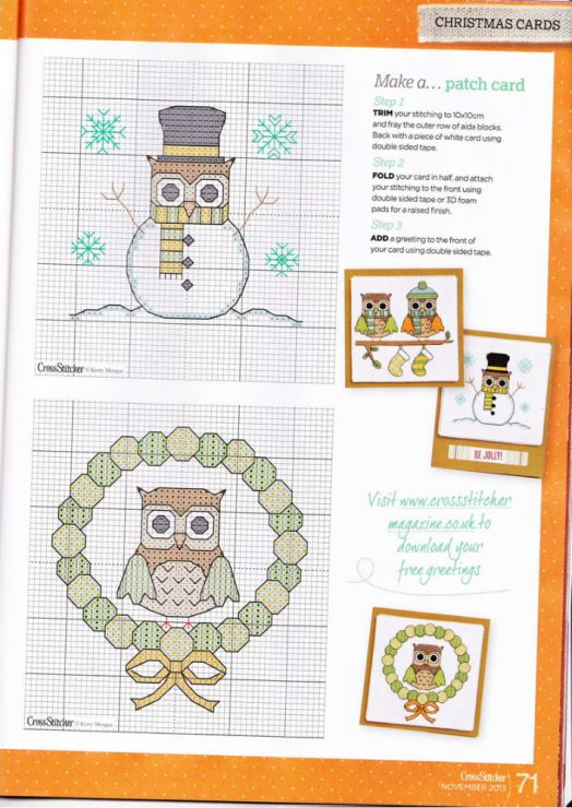 thenorth face Owls cross stitcher 272 | All Things Owl |  | Owl, Crosses and I Want