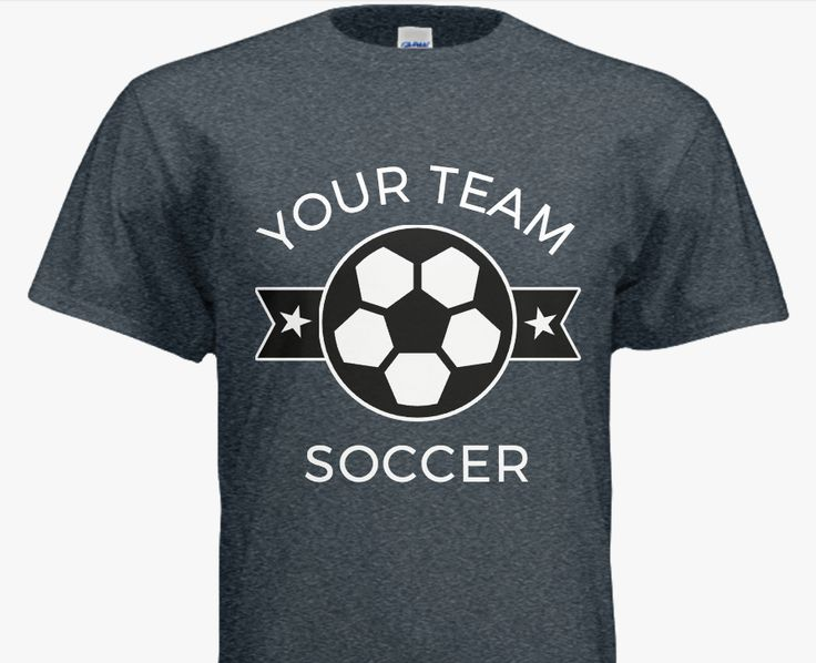 Top 25 ideas about soccer t shirt idea 39 s on pinterest for Football team t shirt designs