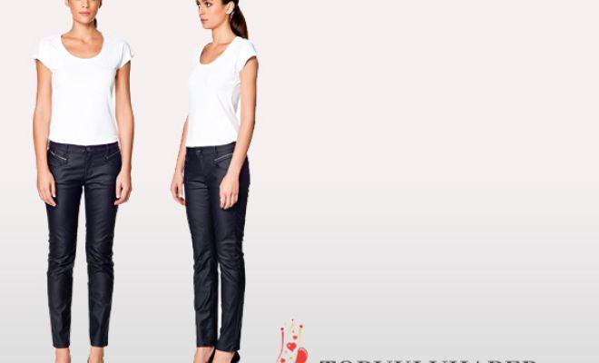 Deri pantolonlar son bir kaç sezondur oldukça moda. Kış sezonu için en büyük avantajı fazla renk seçeneği ve deri ceketlerle birlikte kullan...