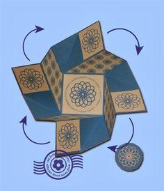 folded card