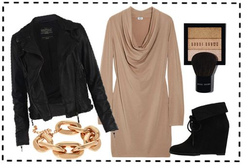 chic city slicker look for girls' night or even date night